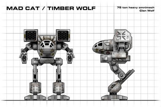 Mad Cat Blueprint