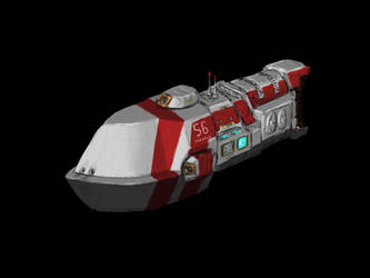 Space Battleship Concept by Walter-NEST