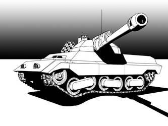 Myrmidon Tank Redesign by Walter-NEST
