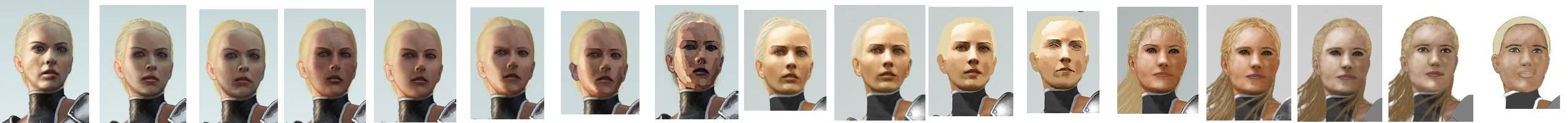 Face Evolution by Walter-NEST