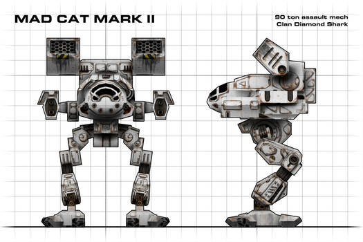 Mad Cat Mark II Blueprint