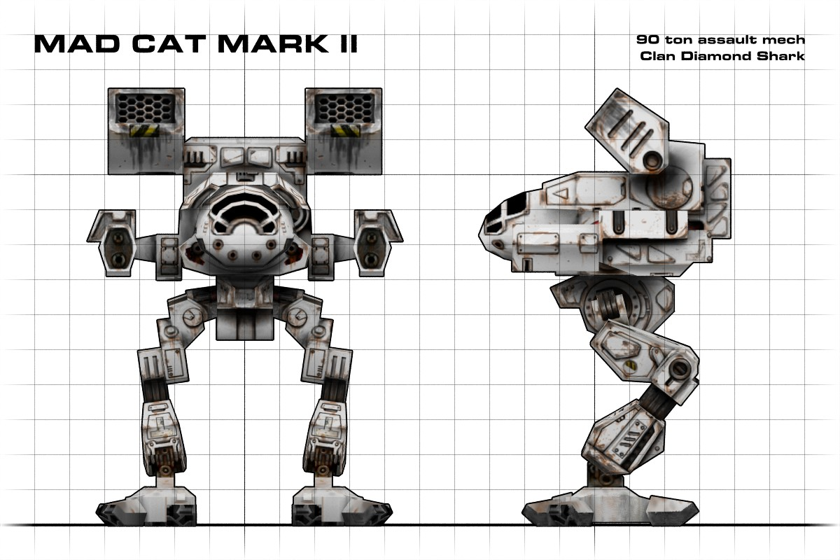 Mad Cat Mark II Blueprint By Walter-NEST On DeviantArt