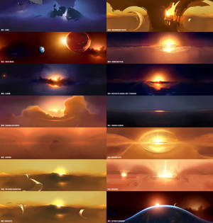Homeworld 2 Space Backgrounds