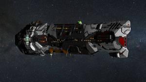 Homeworld 2 Remastered Vaygr Battlecruiser