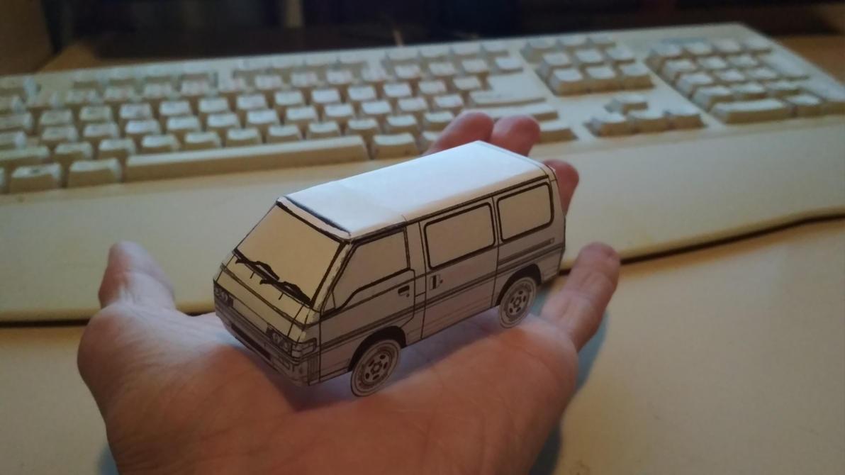 Mitsubishi L300 Paper Model by Walter-NEST
