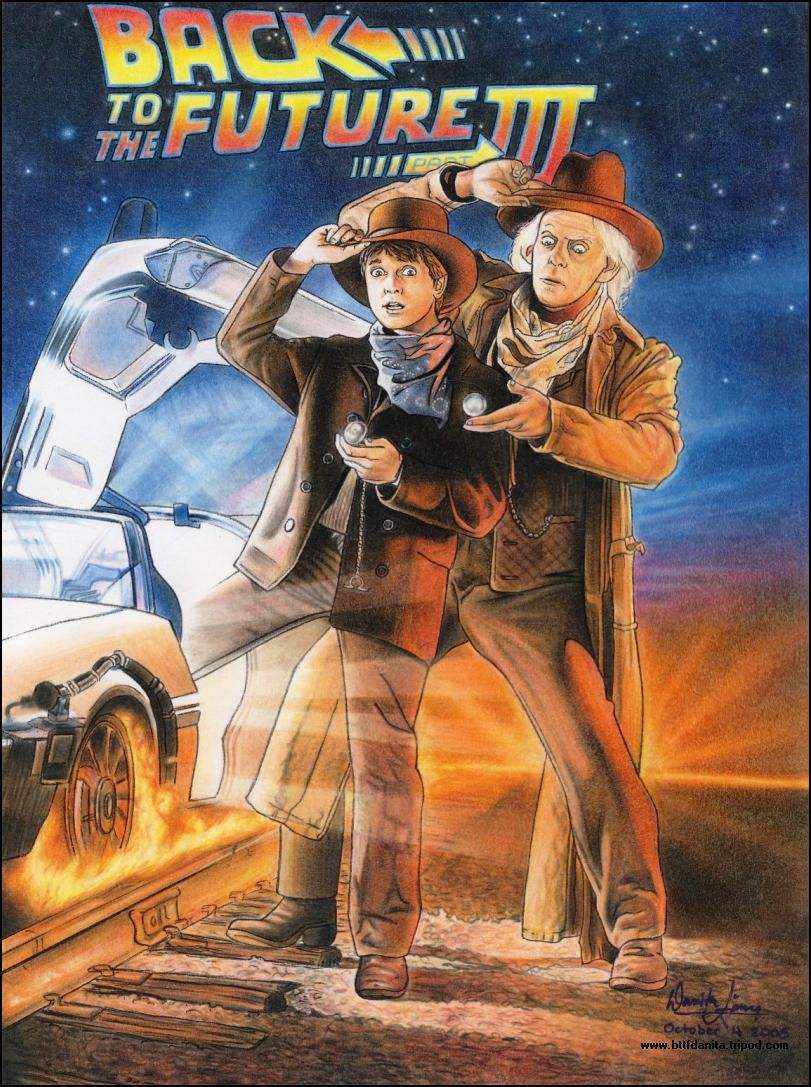 Back to the future part 3 by back to the future on deviantart