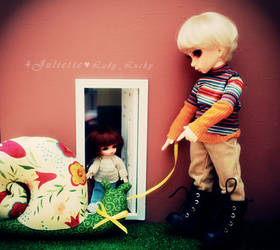 Walking with a snail #1 by 4Juliette