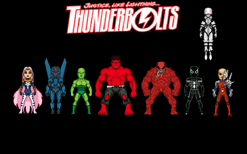 Thunderbolts by Jalil1m