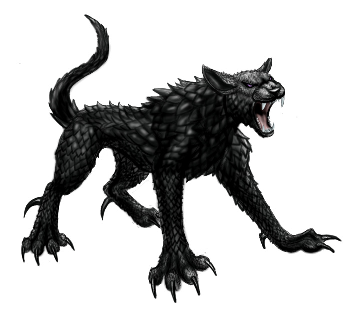 Hellhound from TCOR by BullTerrierKa