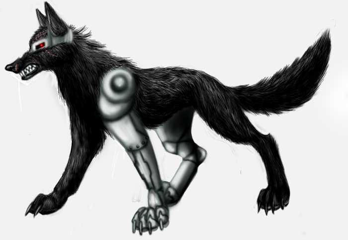Wolf Cyborg By BullTerrierKa On DeviantArt