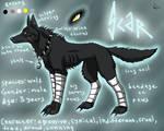Scar the Wolf by BullTerrierKa