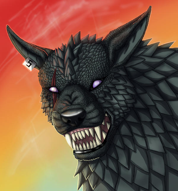 ...Hellhound.. by BullTerrierKa