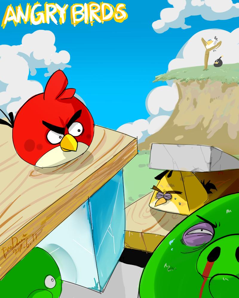 Angry bird by EunDari