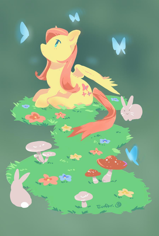 fluttershy by EunDari