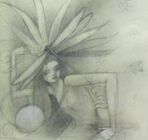 dragonfly girl by SethFitts