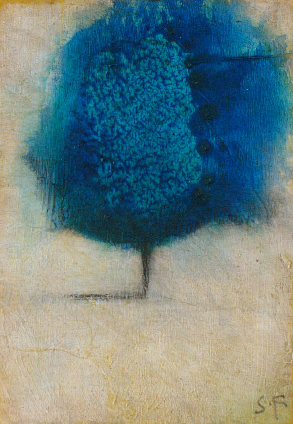 Little Blue Tree by SethFitts