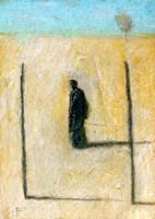 Monk with Gateway by SethFitts
