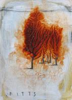 Huddled Trees 2 by SethFitts