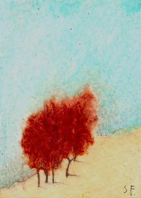 Red Grove ACEO by SethFitts