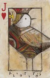 Bird- Jack of Hearts ACEO by SethFitts