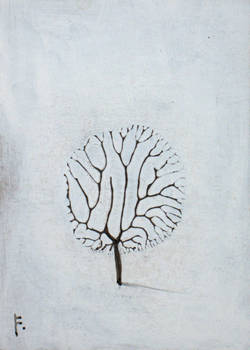 Little Winter Tree ACEO
