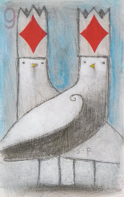 Twin Diamond Kings by SethFitts