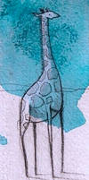 Giraffe-Blue