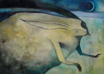 Rabbit Moon by SethFitts