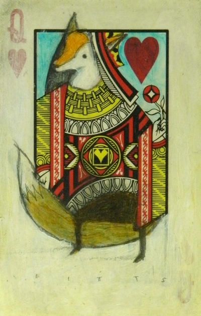 Queen of Hearts: Red Fox by SethFitts