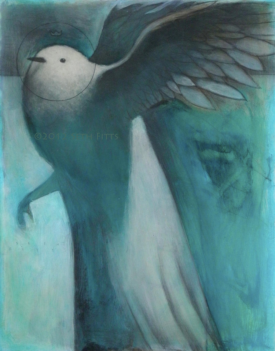 Spirit Guide: White Bird by SethFitts