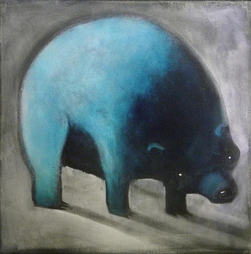 Blue Bear By Sethfitts On Deviantart