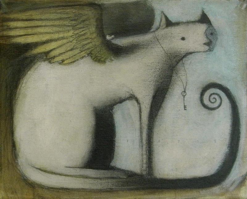 Winged Cat (Key Keeper) by SethFitts