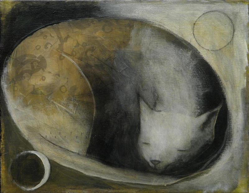 Sleep Cat by SethFitts