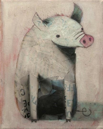 Sitting Pig, Waiting by SethFitts