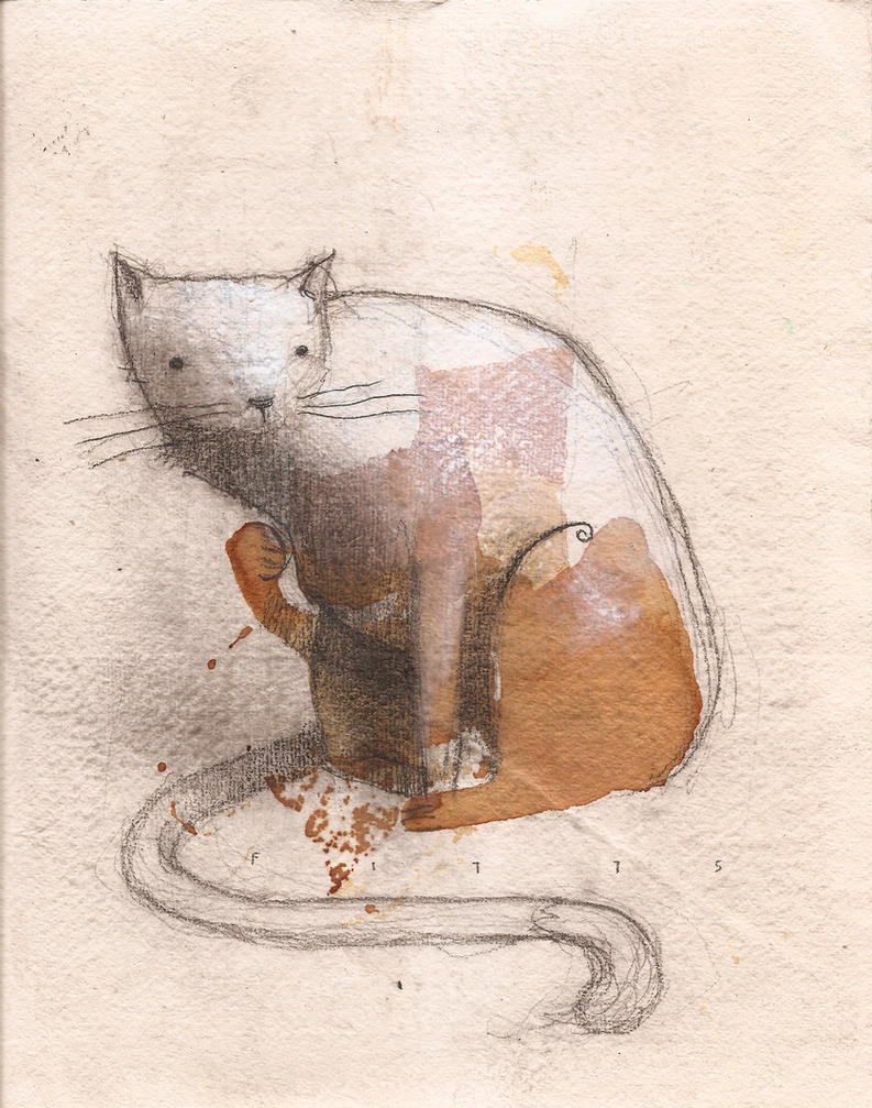 Tea Stained Cat by SethFitts