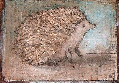 Waiting Hedgehog ATC by SethFitts