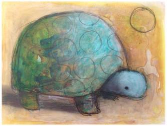 Tortoise with Circle by SethFitts