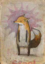 Upright Fox, Standing Fox by SethFitts