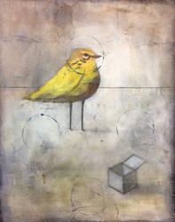 Yellow Bird with Open Box by SethFitts