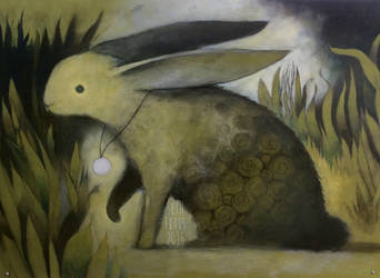 Rabbit in the Garden by SethFitts