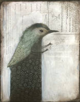 Gesturing Bird Figure by SethFitts