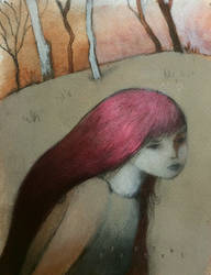 Red Girl: Into the Wood