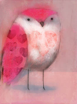 Owl of Hearts