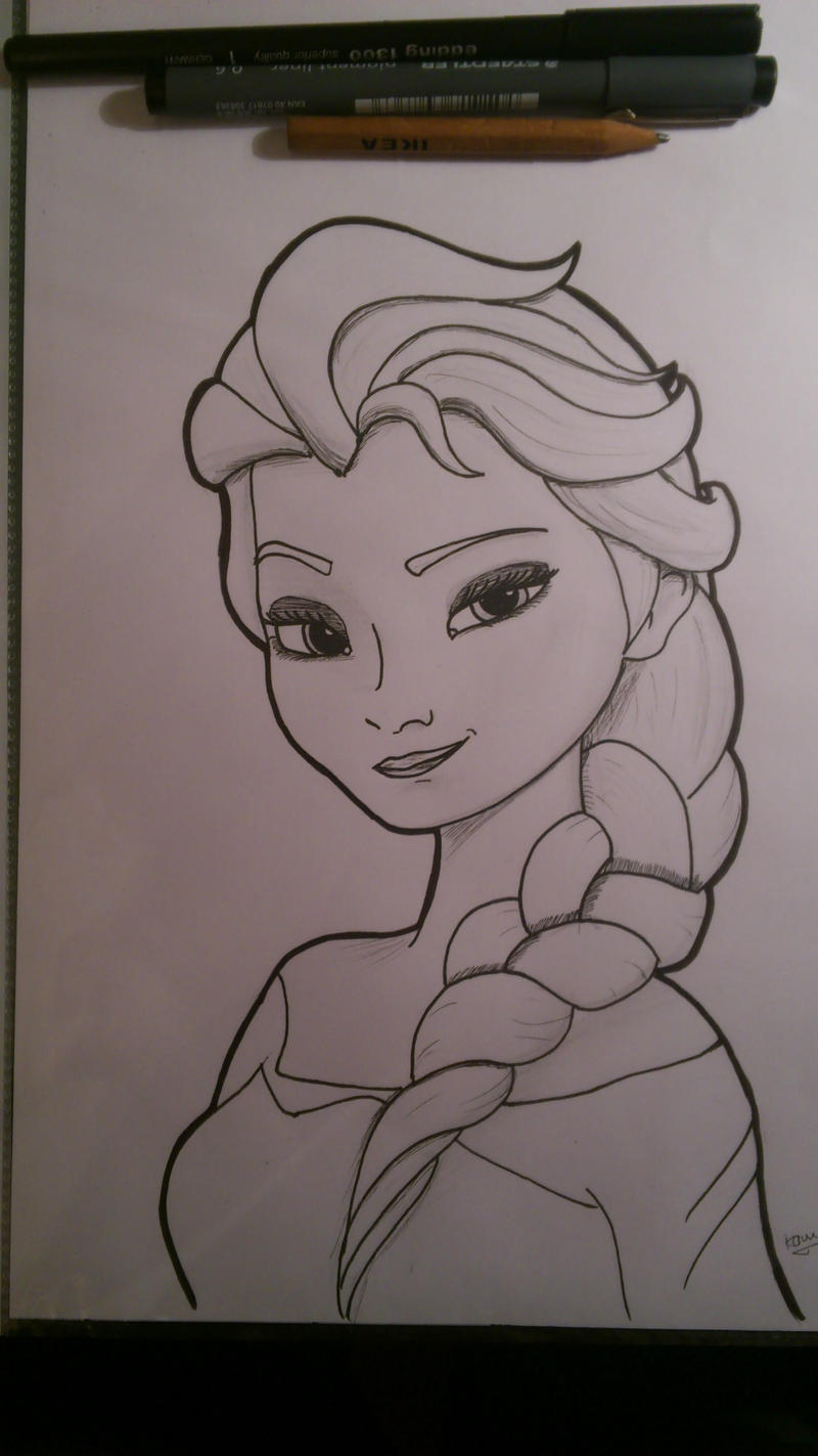 Elsa Frozen by shakaleprekaun on DeviantArt