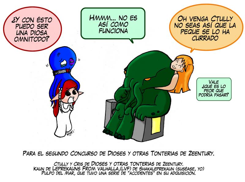 FanArt Dioses y OtrasTonterias by shakaleprekaun
