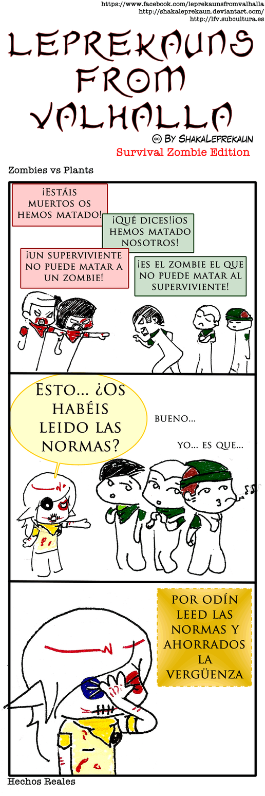 LFV - Zombies vs plants - SZ edition by shakaleprekaun