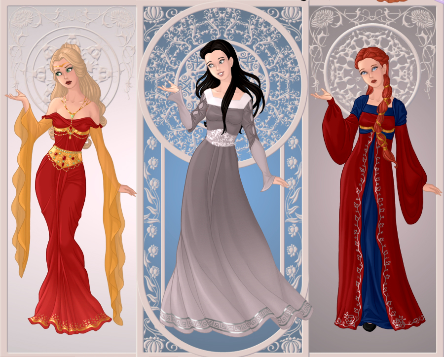 Game of Thrones Ladies 1 by YlyEly