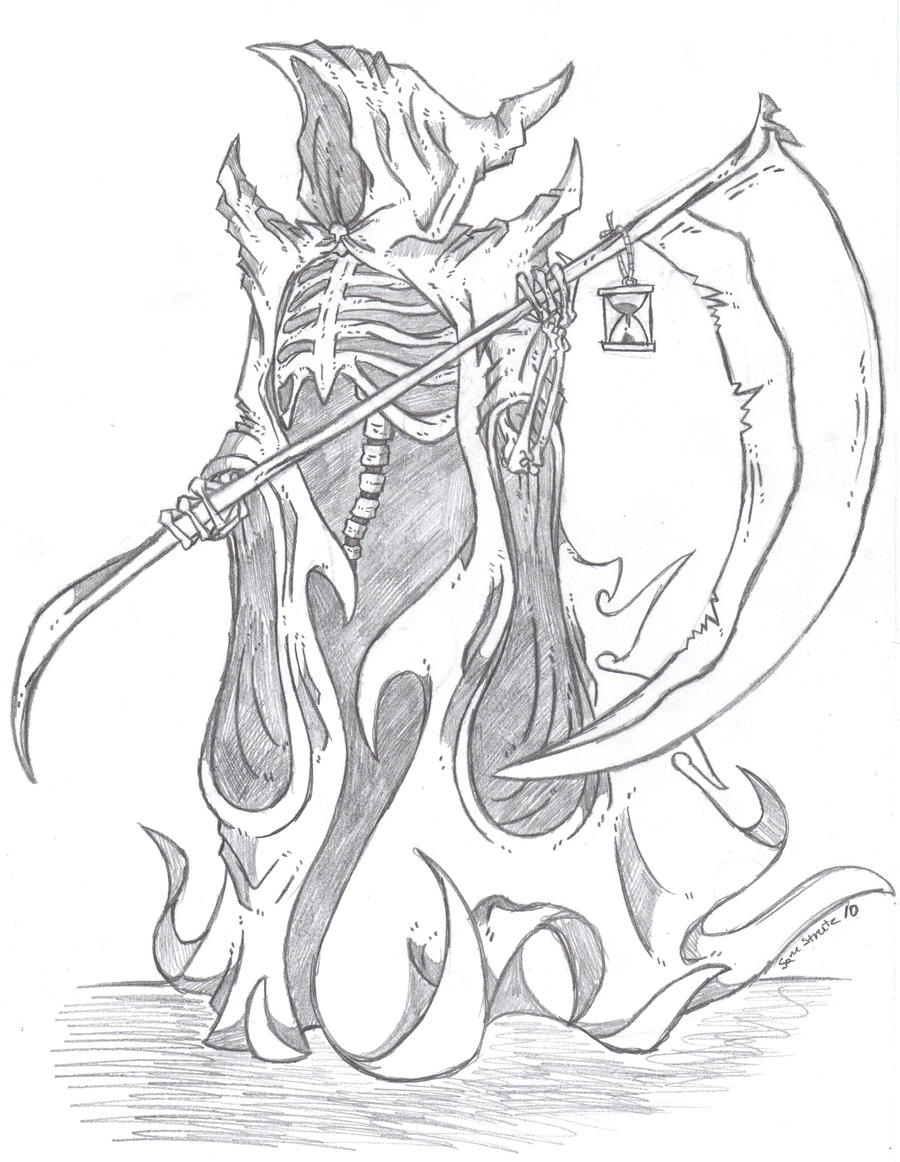 grim reaper death by phycosmiley