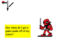 Deadpool Sprite by Phycosmiley