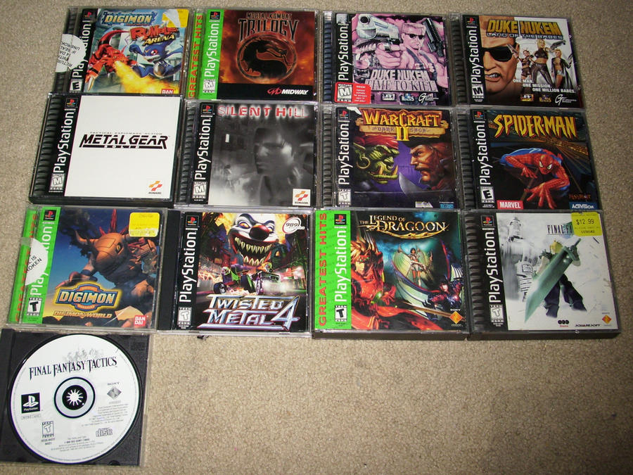 Ps2 Games All Of Them : Game on ps games by phycosmiley deviantart